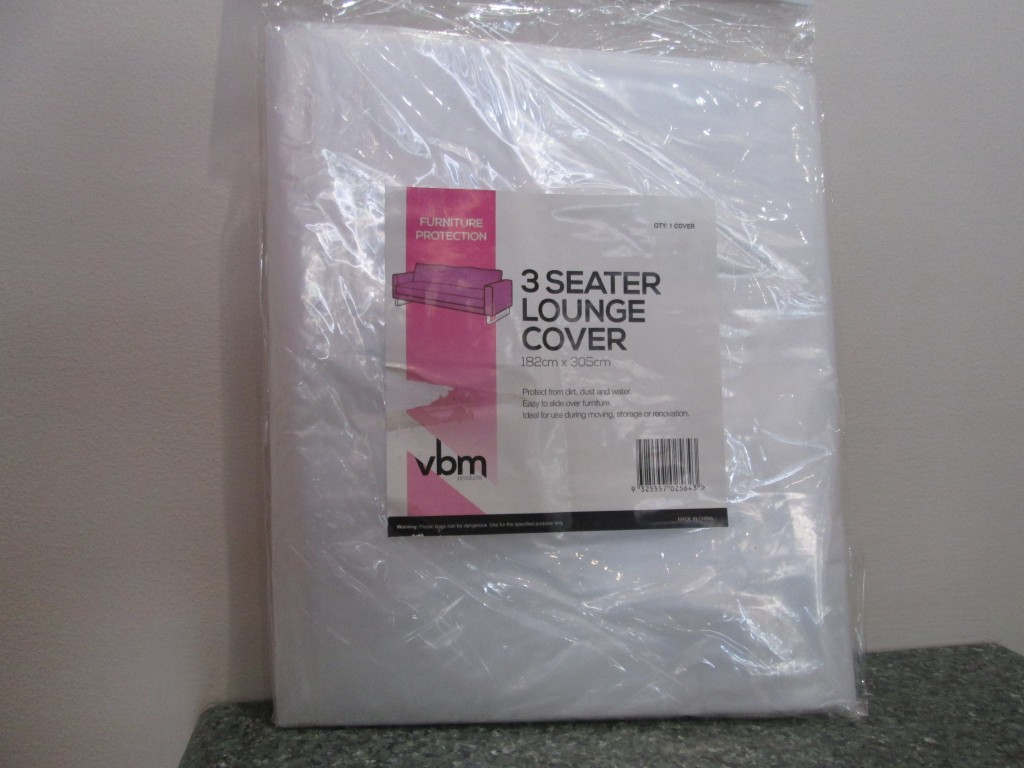3 Seat Furniture Cover $8.50